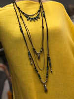 Uno de 50 Waves of Grain Long Necklace