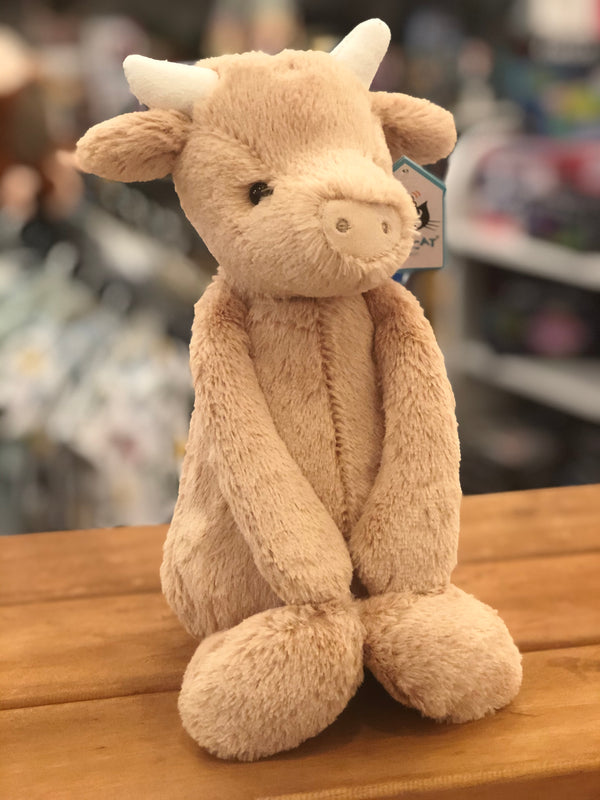 Jellycat Medium Bashful Cow