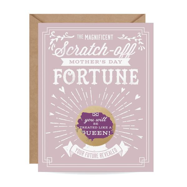 Load image into Gallery viewer, Mother's Day Fortune Scratch-off Card