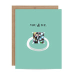 You & Me Proposal Scratch-off Card