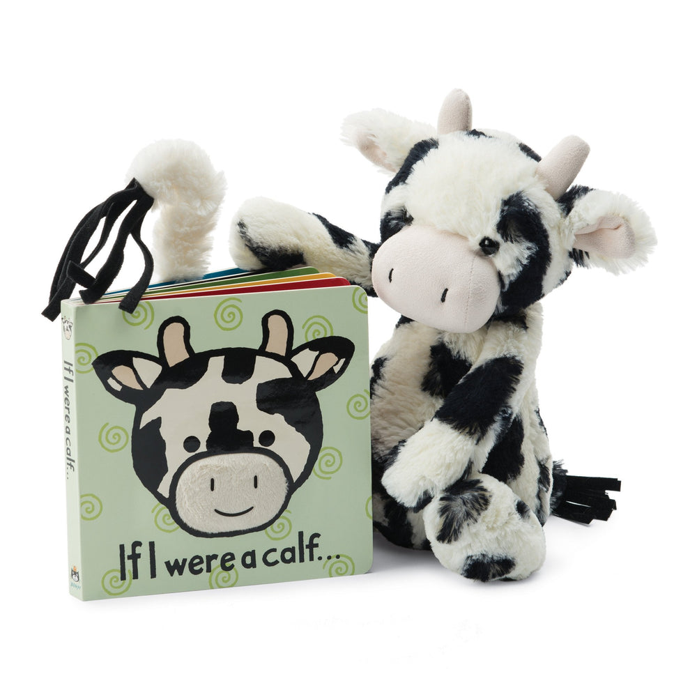 "Jellycat ""If I Were a Calf"" Board Book"