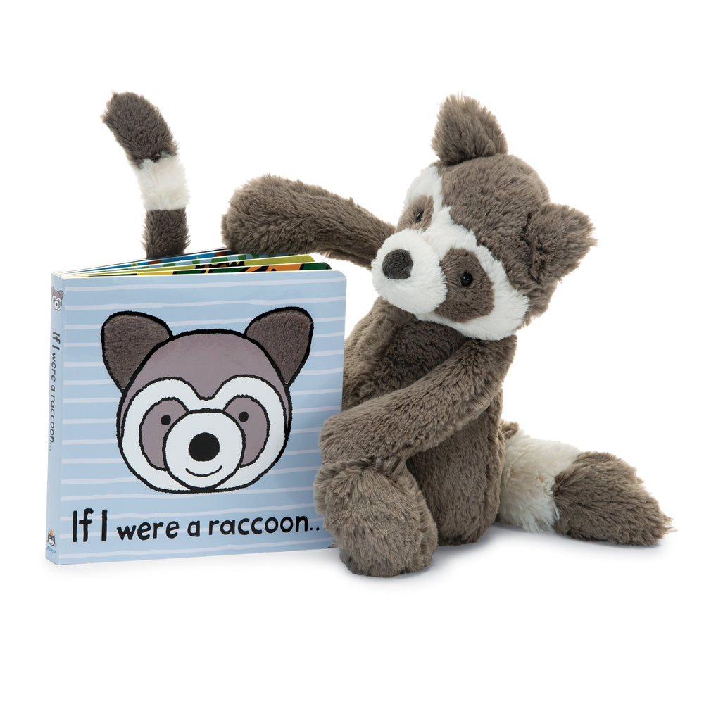 "Jellycat ""If I Were a Raccoon"" Board Book"