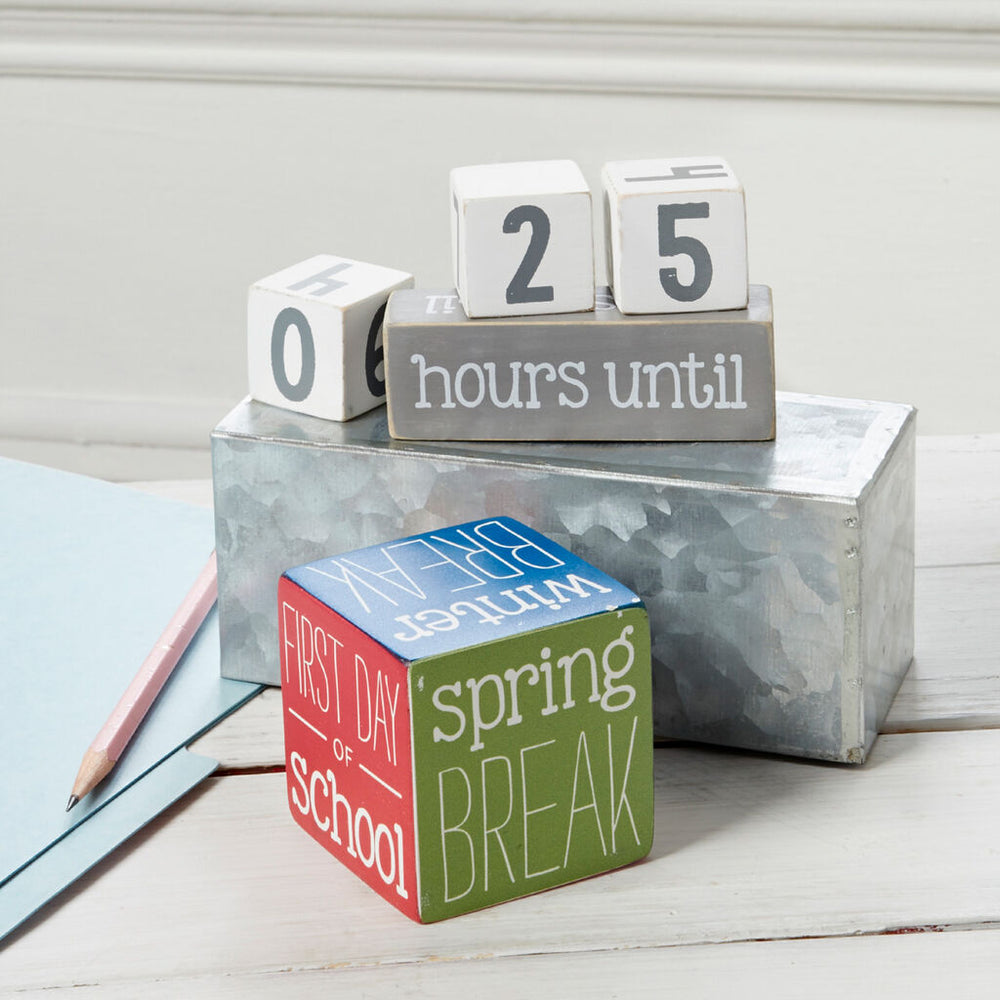 Mud Pie Teacher Countdown Calendar