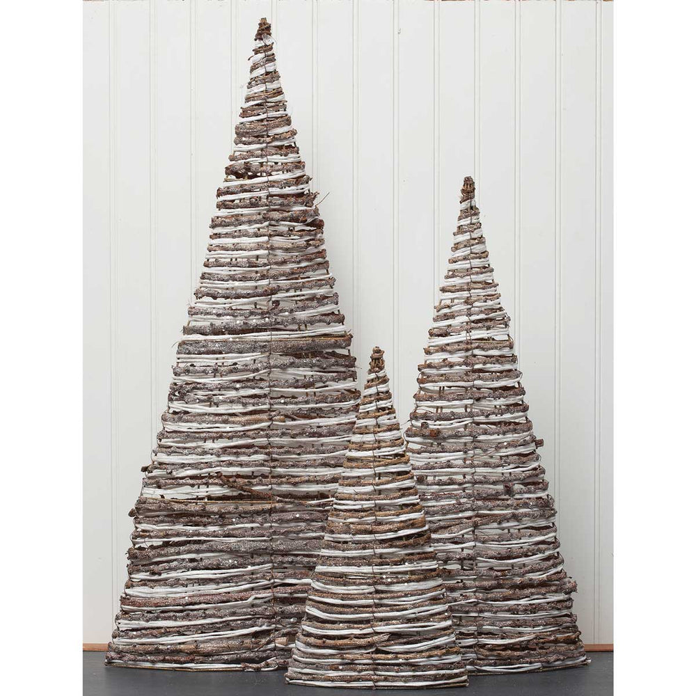 Twine Twig Cone Trees *Pickup only*