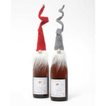 Red or Grey Gnome Bottle Toppers R6705