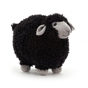 Load image into Gallery viewer, Jellycat Rolbi Sheep Black Small