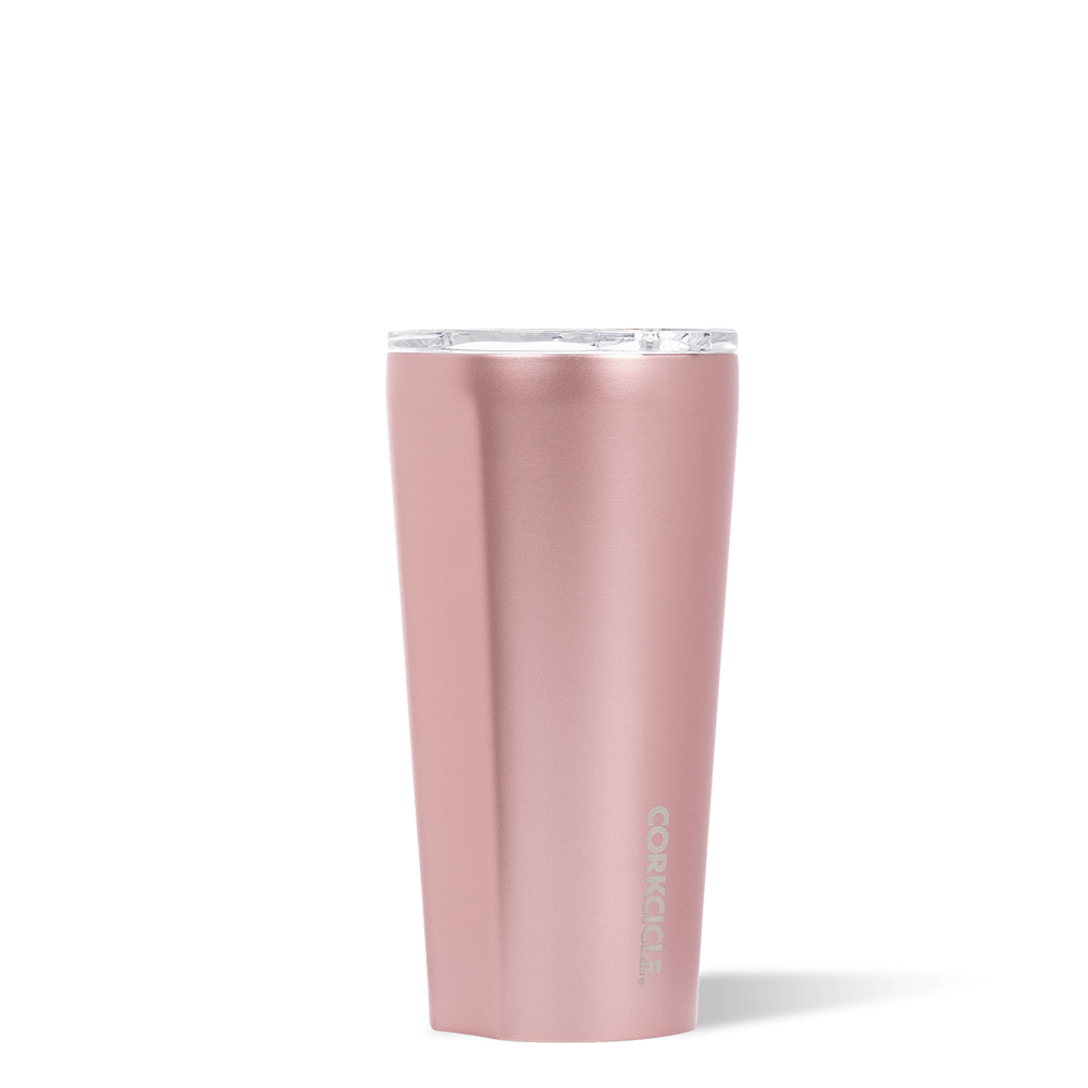 Corkcicle Rose Metallic 16oz Tumbler