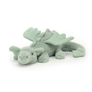 Jellycat Sage Dragon Little