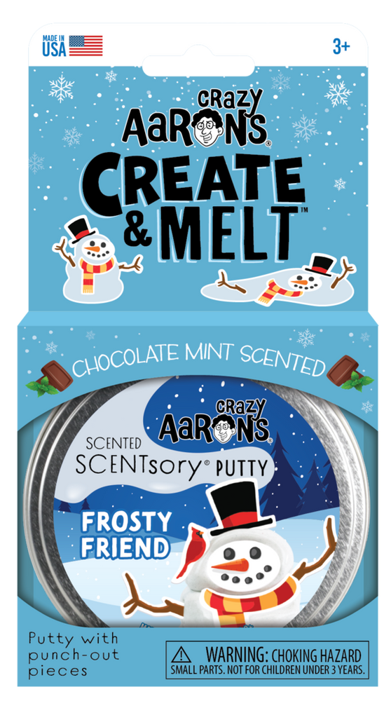 Crazy's Aaron's Holiday SCENTsory Putty