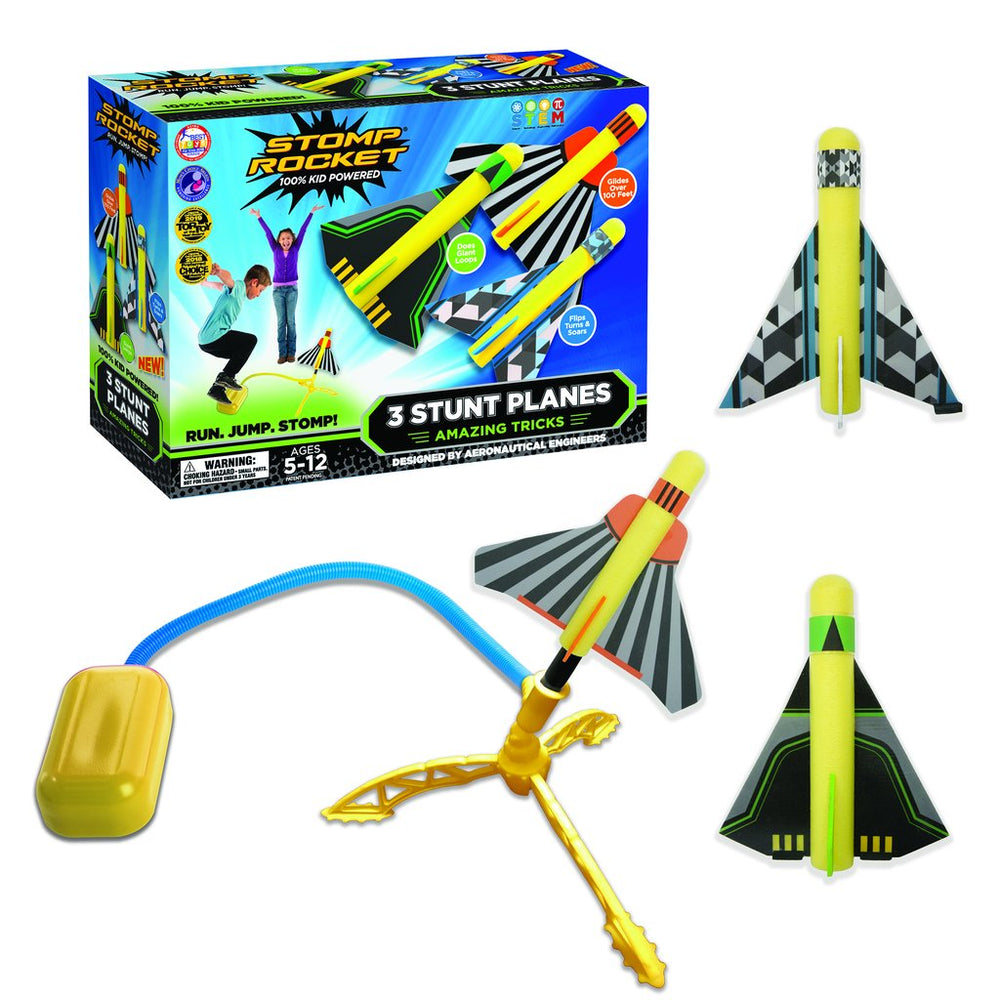 Stomp Rocket Stunt Planes