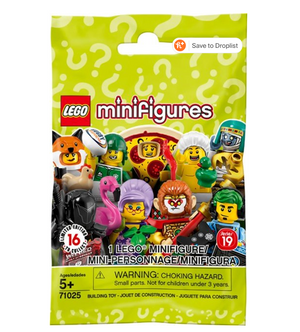 Load image into Gallery viewer, LEGO Series 19 Mystery Blind Minifigure Bag