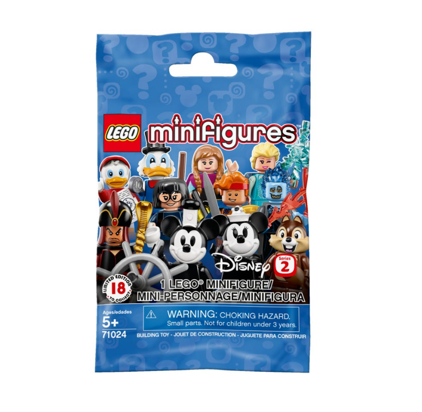 LEGO Disney Series 2 Minifigure Mystery Bag