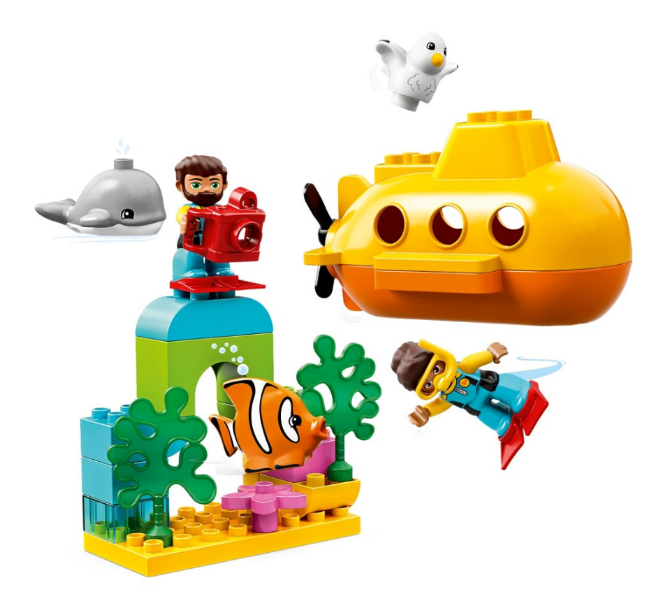 Load image into Gallery viewer, LEGO DUPLO Submarine Adventure