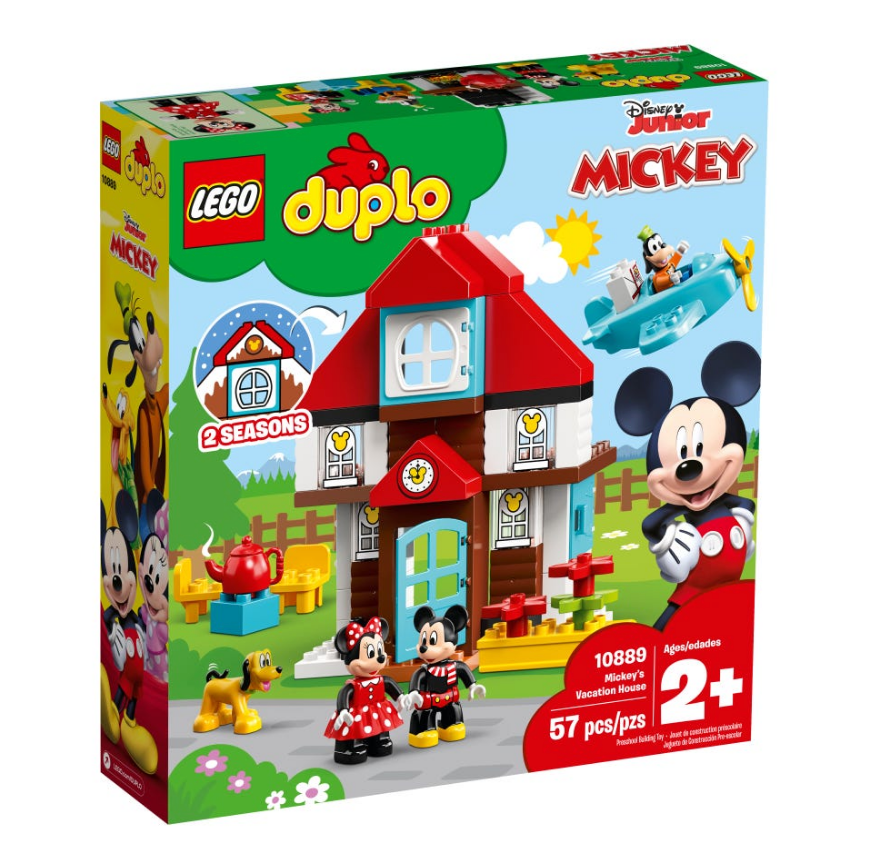 Load image into Gallery viewer, LEGO DUPLO Mickey's Vacation House