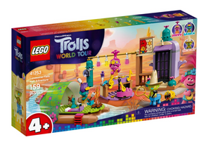 LEGO Trolls World Tour Lonesome Flats Raft Adventure