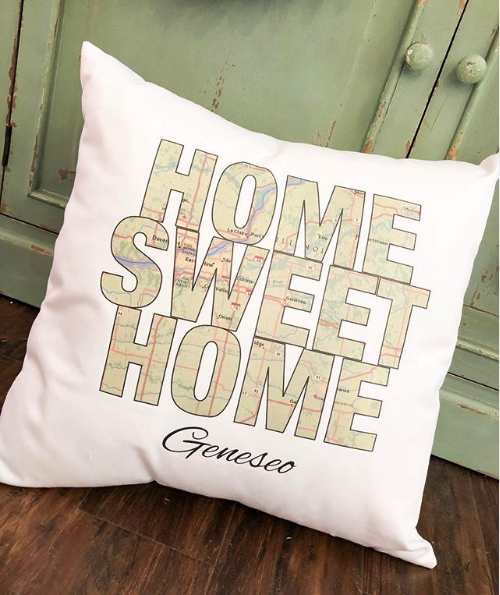 Home Sweet Home Geneseo Pillow