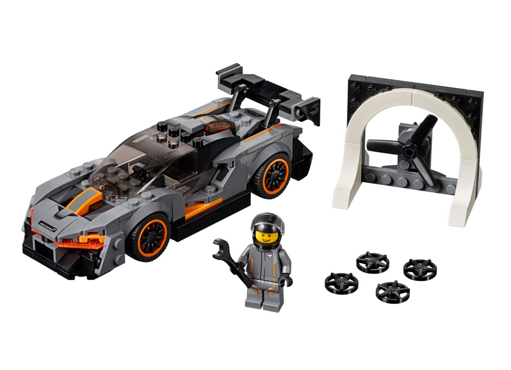 Load image into Gallery viewer, LEGO Speed Champions McLaren Senna 75892