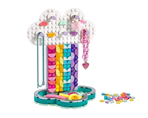 Load image into Gallery viewer, LEGO DOTS Rainbow Jewelry Stand 41905
