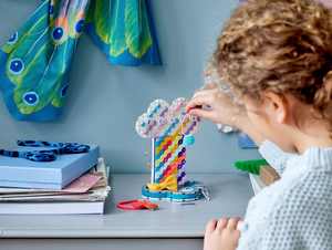 LEGO DOTS Rainbow Jewelry Stand