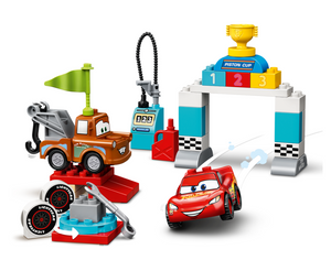 Load image into Gallery viewer, LEGO DUPLO Lightning McQueen's Race Day 10924