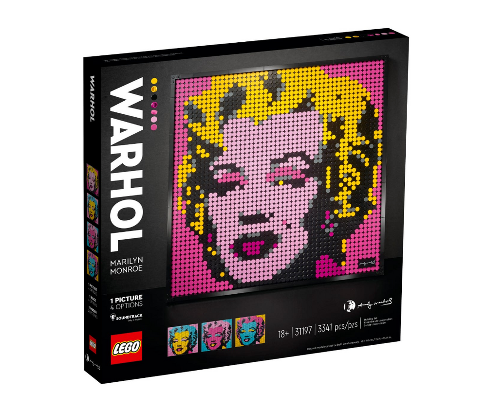 Load image into Gallery viewer, LEGO ART Andy Warhol's Marilyn Monroe 31197