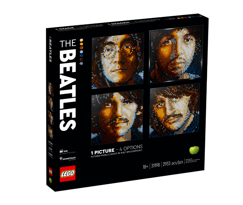 Load image into Gallery viewer, LEGO ART The Beatles 31198