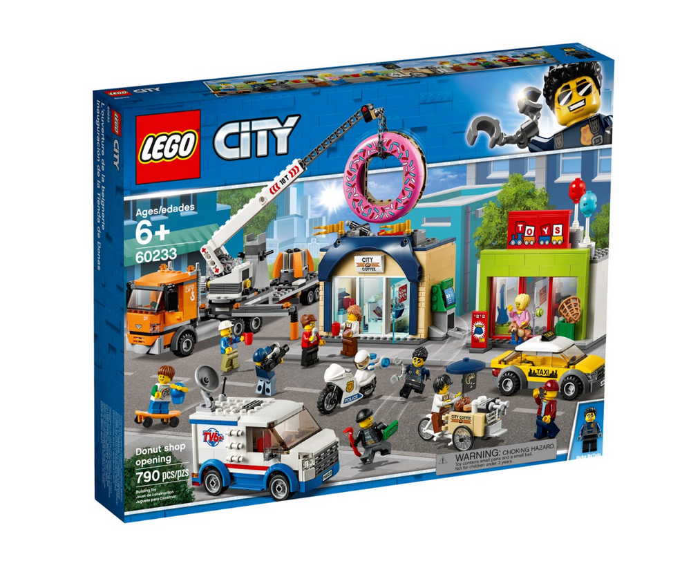 Load image into Gallery viewer, LEGO City Donut Shop Opening 60233
