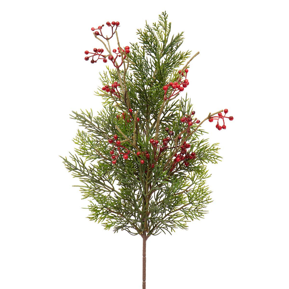 "21.5"" Pine Berry Spray V4636"