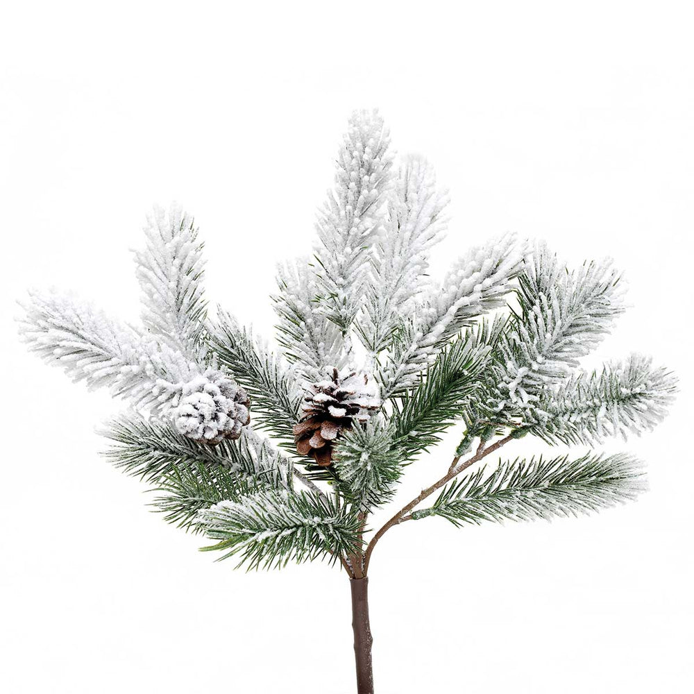 Light Frosted Pine Pick