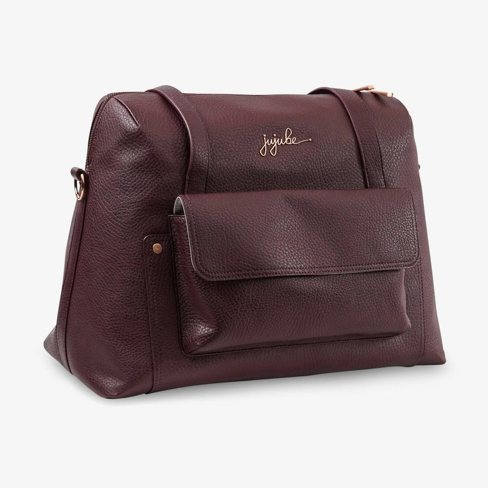 JuJuBe Wherever Weekender Diaper/Travel Bag - Plum