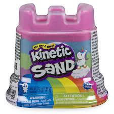 Toysmith Kinetic Sand Rainbow Castle