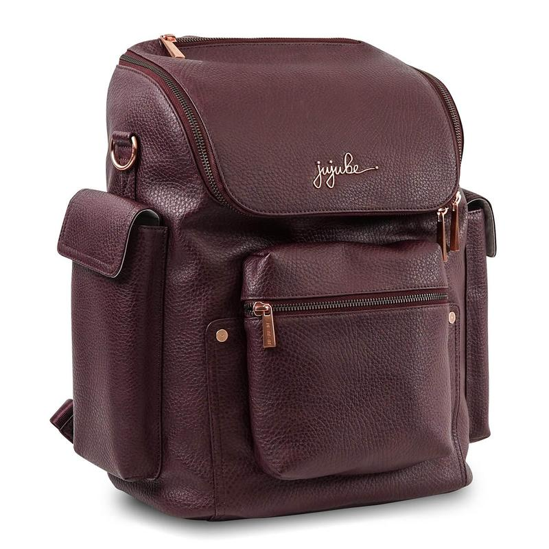 JuJuBe Forever Backpack Diaper Bag - Plum