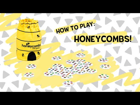 Load and play video in Gallery viewer, Honeycombs Game (a Duckling favorite!)