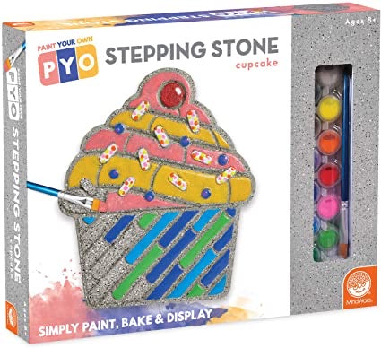 Paint Your Own Stepping Stone: Cupcake
