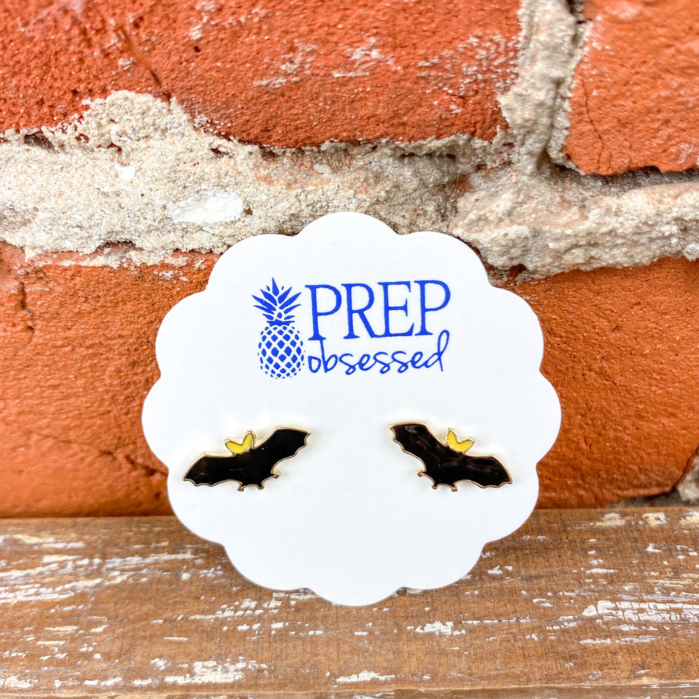 Prep Obsessed Fall/Halloween Stud Earrings