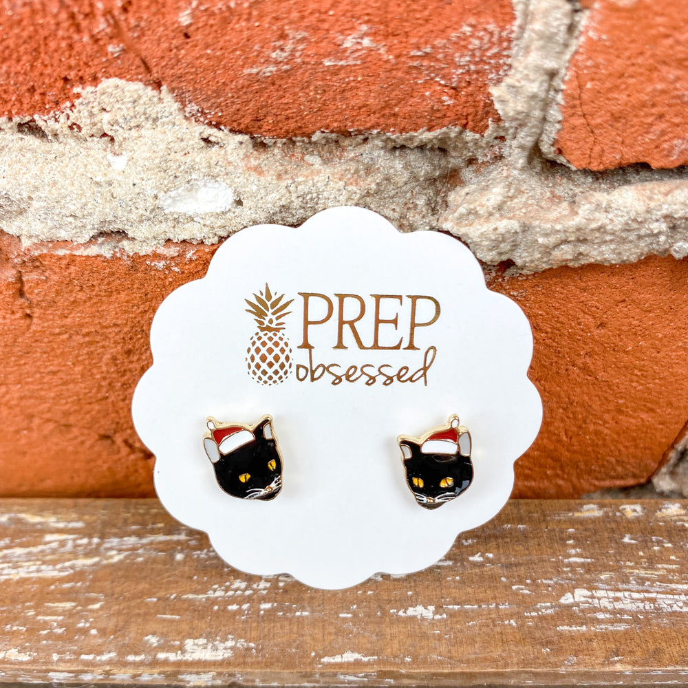 Prep Obsessed Winter/Christmas Stud Earrings