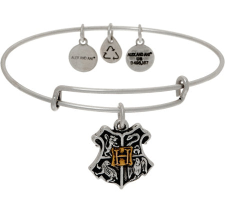 Alex and Ani Harry Potter Hogwarts Crest Bangle
