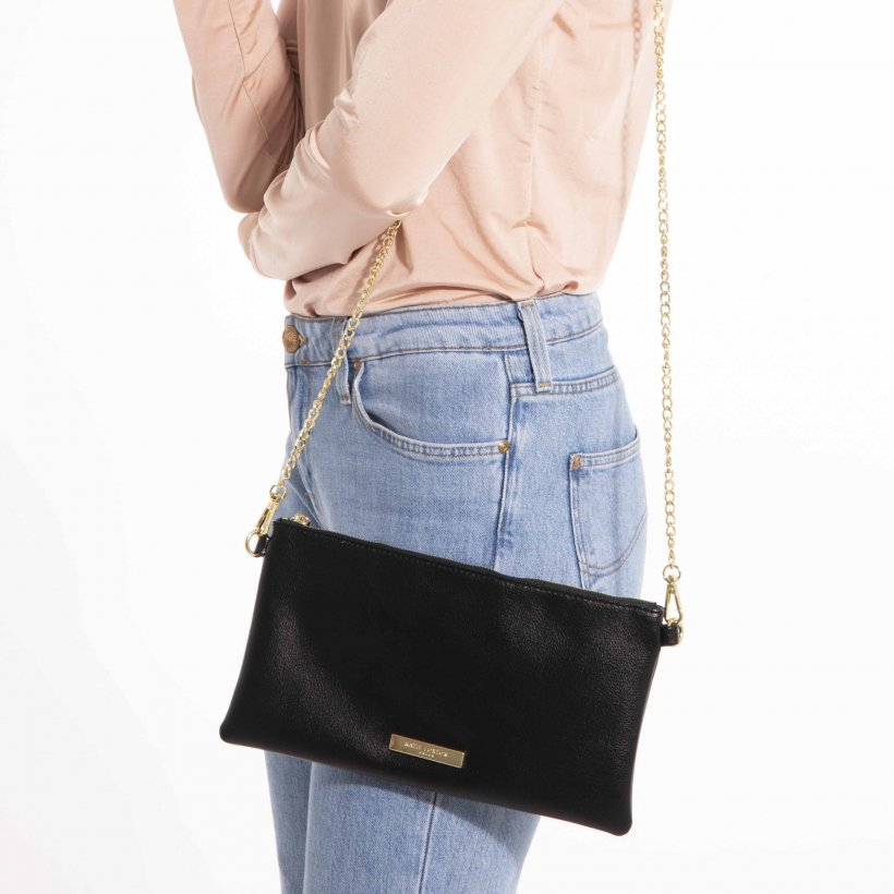 Katie Loxton Freya Crossbody Bag in Black