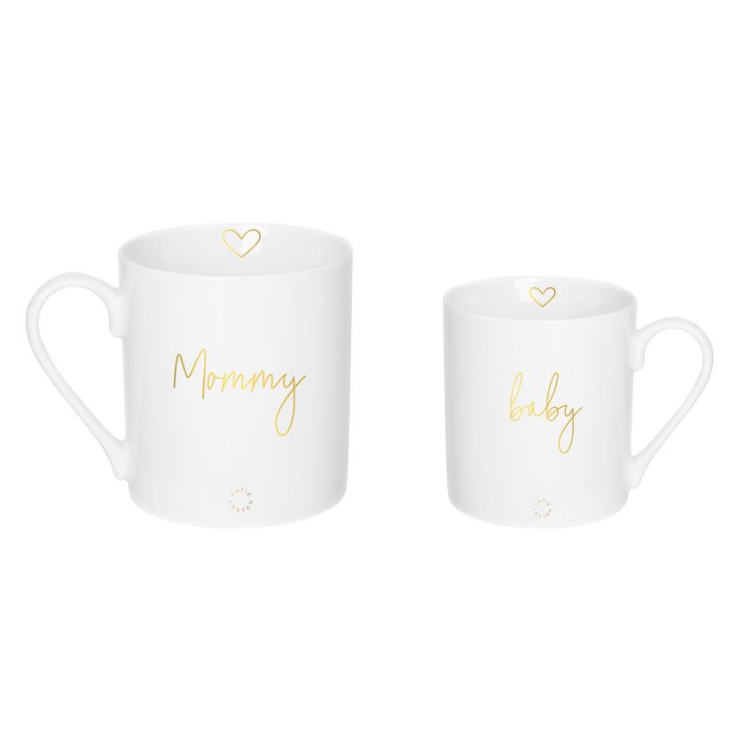 Katie Loxton - Mommy and Baby Porcelain Mug Gift Set