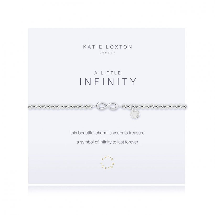 Load image into Gallery viewer, KLJ1455 Katie Loxton A Little Infinity Bracelet