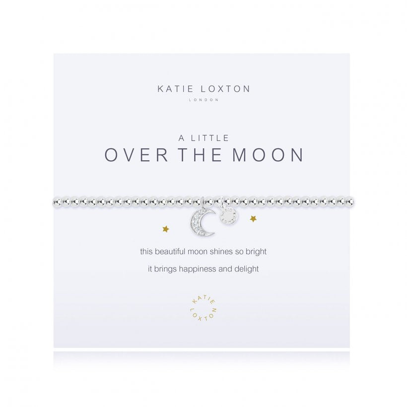 KLJ1672 Katie Loxton A Little Over the Moon Bracelet