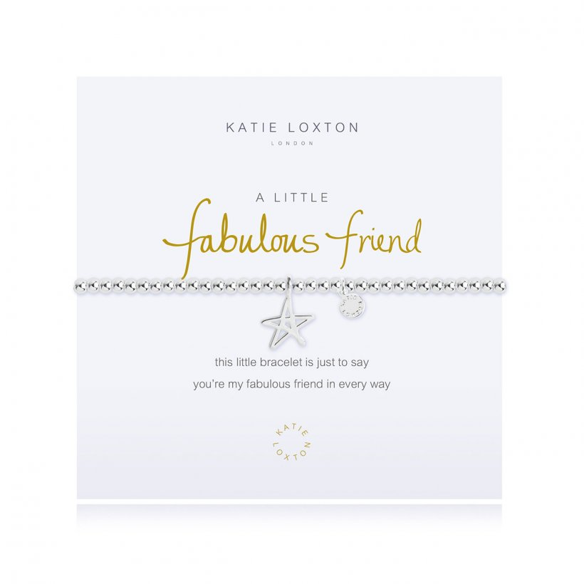 KLJ22286 Katie Loxton A Little Fabulous Friend Bracelet