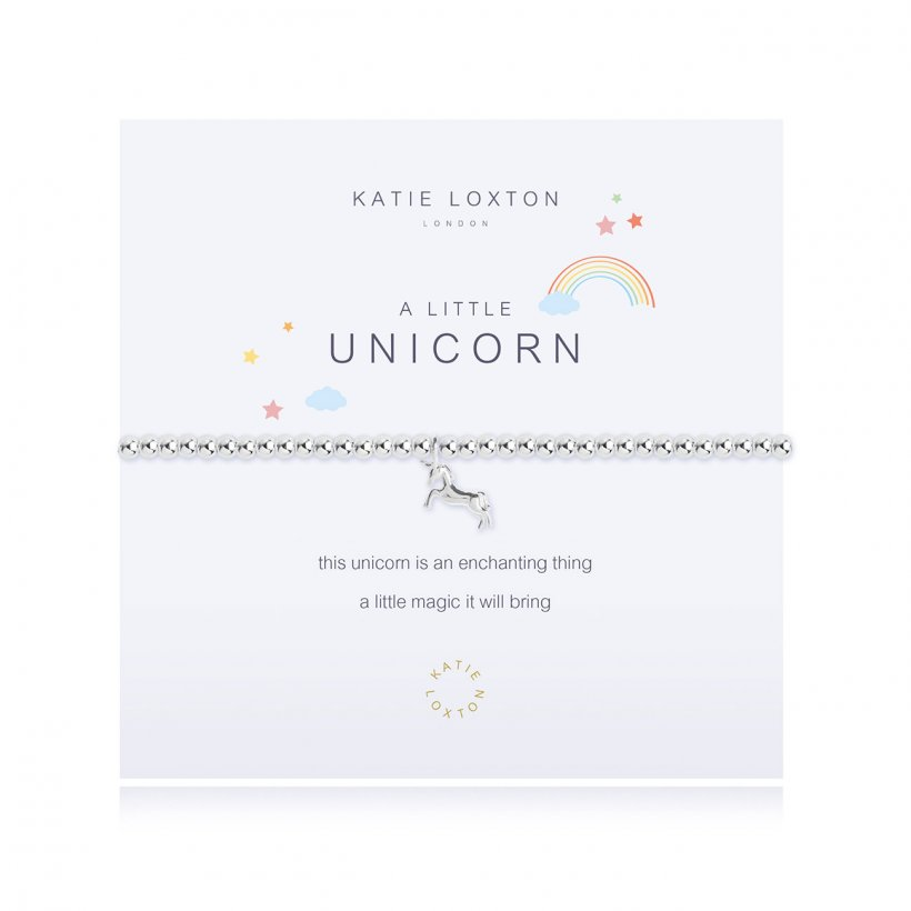 Load image into Gallery viewer, KLJ2527 Katie Loxton A Little Unicorn Bracelet