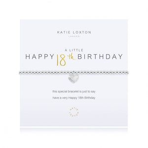 Load image into Gallery viewer, KLJ2923 Katie Loxton A Little Happy 18th Birthday Bracelet