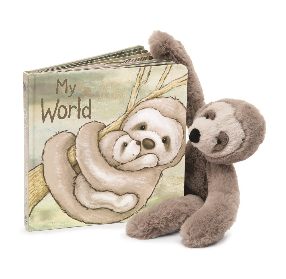 Jellycat My World Board Book