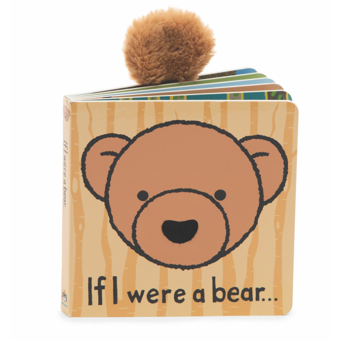 "Jellycat ""If I Were a Bear"" Board Book"