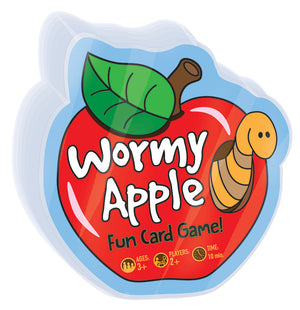 Load image into Gallery viewer, Wormy Apple - Fun Card Game