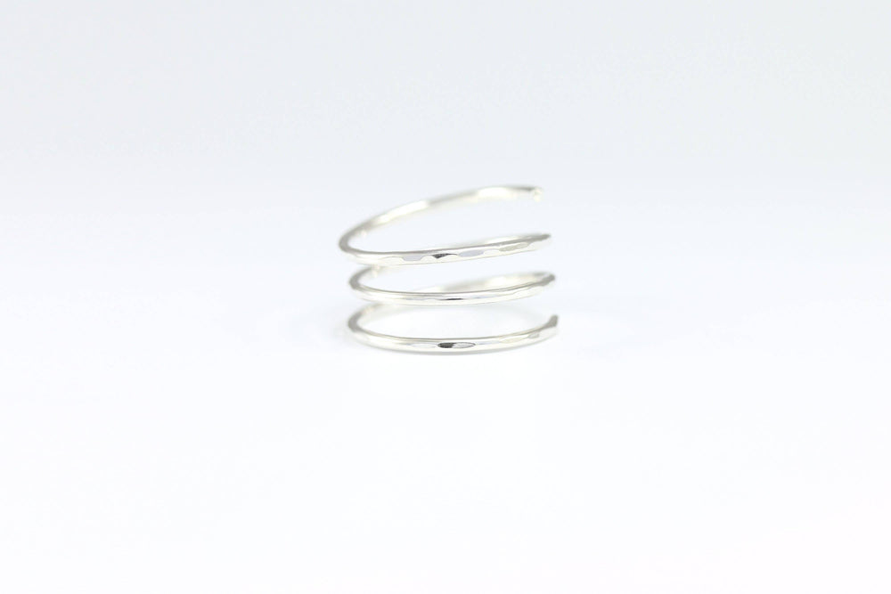 Sterling Silver Coil Ring