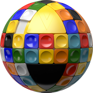 Load image into Gallery viewer, V-SPHERE 3D Sliding Spherical Puzzle