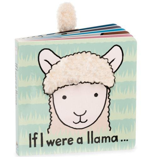 "Jellycat ""If I Were a Llama"" Board Book"